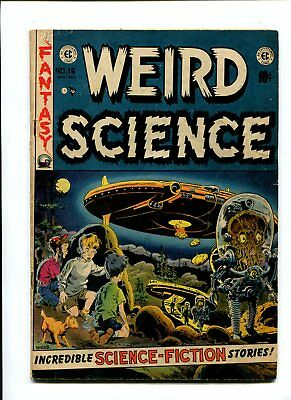Weird Science #16 Wally wood UFO cover scarce FN- 5.5 Golden age