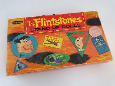 Vintage Whitman Hanna-Barbera The Flintstones Stand Up Dolls Paper Doll 1962 Toy