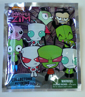 Invader Zim GIR IN DOG SUIT DISGUISE A Collectors Keychain (Nickelodeon)