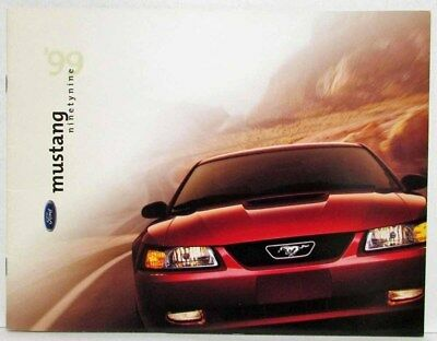 1999 Ford Mustang Sales Brochure with Jason Priestley - Canadian
