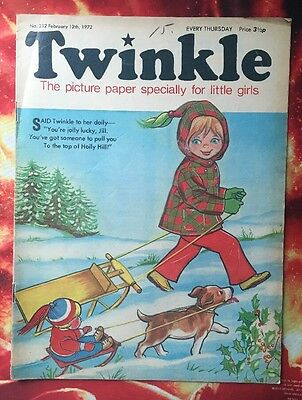 Twinkle  Comic No. 212. 12 February 1972. Fn+ Puzzles Not Done.