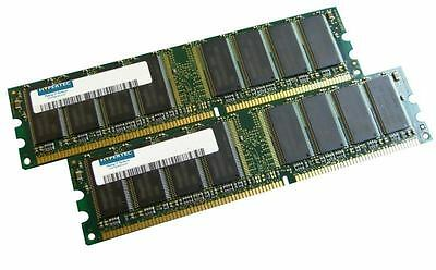 Hypertec HYMDL96512 - A Dell equivalent 512MB Kit (2 x 256 PC3200 DIMM)  (1y...