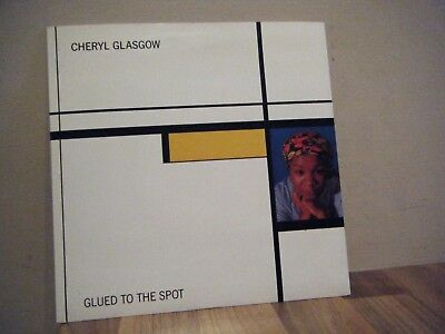 PICTURE SLEEVE.soul.CHERYL GLASGOW.1980's.GLUED TO THE SPOT.live records.