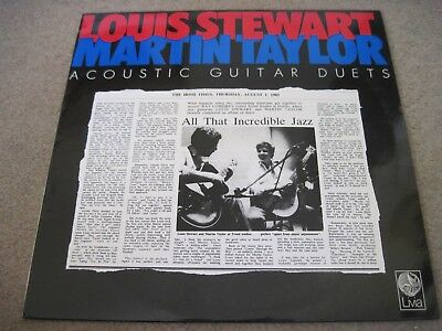 LOUIS STEWART MARTIN TAYLOR Super Session  1986  LIVIA RECORDS  superb EX