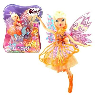Winx Club - My Butterflix Magic - Stella Doll and Double Wings