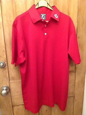 Footjoy Polo Golf Shirt- Athletic Fit Large