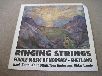 RINGING STRINGS Fiddle Music Of Norway/Shetland VARIOUS ARTISTS 1983 TOPIC  NM