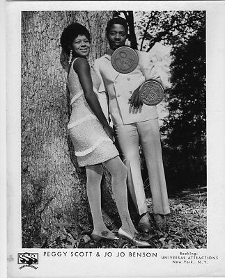 PEGGY SCOTT & JO JO BENSON PUBLICITY PROMO MUSIC 8x10 PHOTO PICTURE SOUL R&B