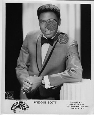 FREDDIE SCOTT PRESS SINGER PUBLICITY PROMO MUSIC 8x10 PHOTO PICTURE SOUL R&B