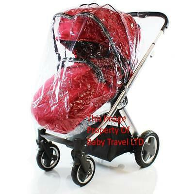 Rain Cover Fits iSafe Pram System Pushchair Stroller Raincover