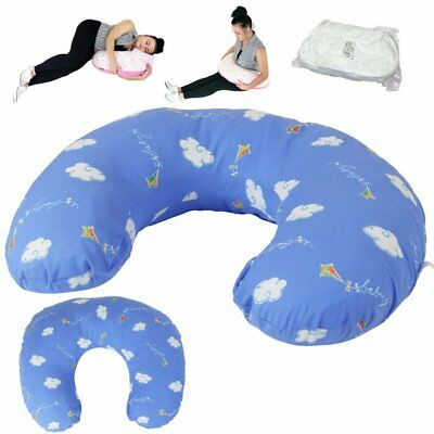 iSafe Maternity Pillow + Boppy Kites Cover + Vacuum Storage Bag