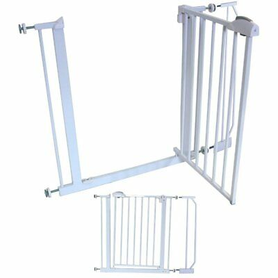 iSafe Safety Stair Gate Auto-Close StairGate Including 10 cm Extension