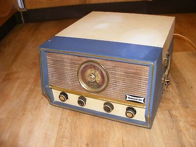 Vintage Dansette RG31 Portable Radiogram Record Player with Integral Radio, 60's