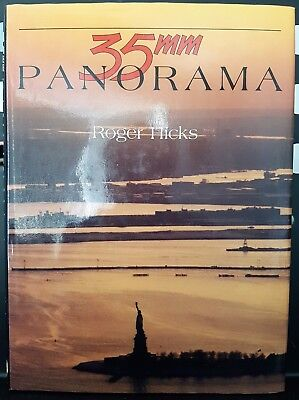 35mm Panorama Hardcover Book By Roger Hicks With Dust Jacket