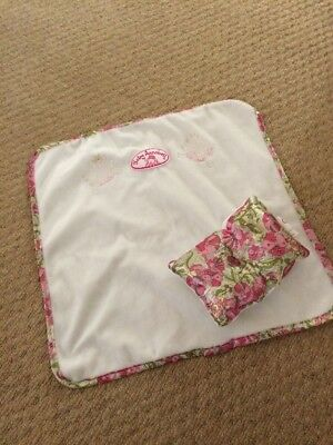 baby annabell Blanket And Pillow