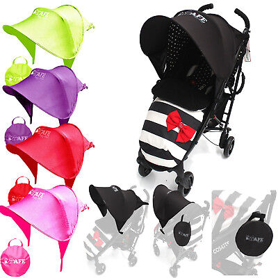 I-Safe Buggy Shade Universal Stroller Sun Shade Maker For Hauck Speed