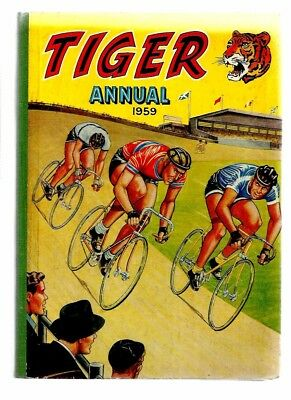 Tiger Annual 1959. Very Good Condition. Roy Of The Rovers.