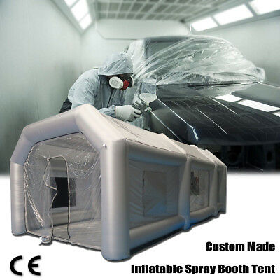 Giant Car Workstation Inflatable Spray Paint Booth Tent Custom Tenda gonfiabile