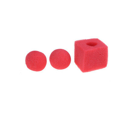 Sponge Ball To Cube Magic Tricks Products Sponge Tricks Set For Funny SK