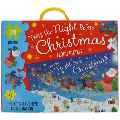 The Night Before Christmas Floor Puzzle, Toys & Games, Brand New