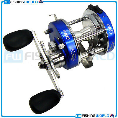Catalyst : Cc 40 3 Stainless Bearings Overhead Baitcast Reel