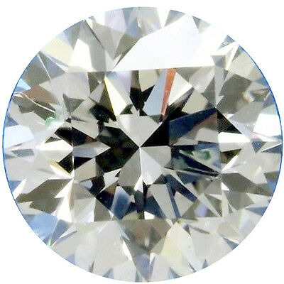 2.96 ct VVS1/9.74mm GENUINE H-I WHITE COLOR ROUND LOOSE REAL MOISSANITE