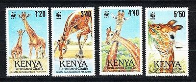 Kenya Scott 491-494 Mint NH (Catalog Value $21.00)