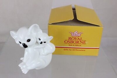 Rare Royal Osbourne Koala Mother & Child bone china SWA20JWG