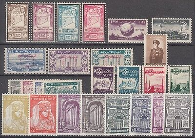 Syria - Mint NH lot of Airmail sets (Catalog Value $86.80)