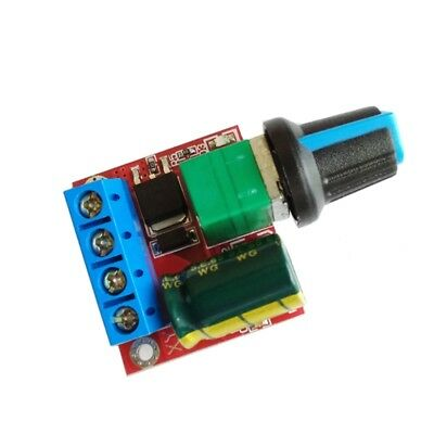 DC Motor Mini PWM Speed Controller 4.5V-35V Speed Control Switch LED Dimmer 5A