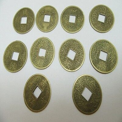 200Pcs Chinese Fengshui Auspicious I Ching Coins 32mm