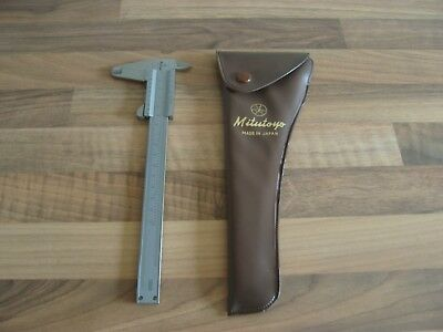 Mitutoyo Stainless Hardened Vernier Caliper 1 - 150mm With Case
