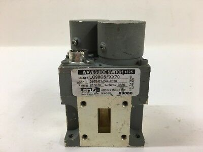Logus Manufacturing Corp. Waveguide Switch L090CSFXX70 Military Aircraft F-15