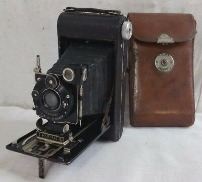 Ancien APPAREIL PHOTO SOUFFLET KODAK Numero N 3 SERIES III COMPUR Eastman EK A