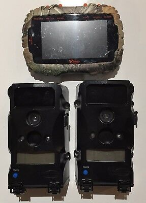 (2) 2488 (1) 1958 Used Wildgame T6B1 Game Camera 6MP & VU50 Card Reader