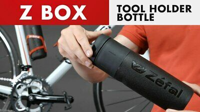 ZEFAL Z-Box | Bicycle Bottle Cage Waterproof Tool Holder | Med / Large