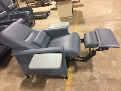 Blue Procedure Or Recovery Chair