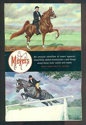 1960s MEYERS Equestrian Wear And Styled Accessories Catalog Lexington Kentucky