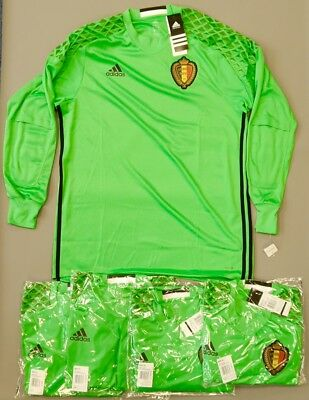 Bulk Deal of 5 Belgium Keeper jerseys in Mixed sizes adults (new in bag)