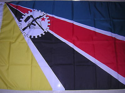 100% New reproduced flag of Mozambique 1975 - 1983 Ensign 3 feet X 5 feet