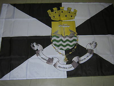 100% New Reproduced Flag of  Lisboa Portugal Portugese Ensign 3ftX5ft