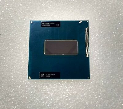 Intel Core i7-3720QM Processor 6M Cache up to 3.60 GHz SR0ML PGA988 CPU