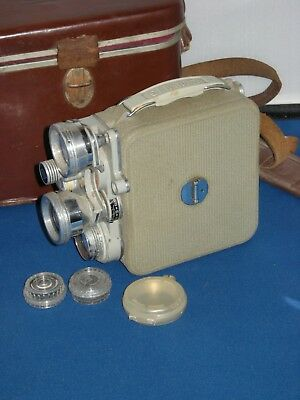 Eumig C3R 8mm Moive Camera c1958 with Fitted Case