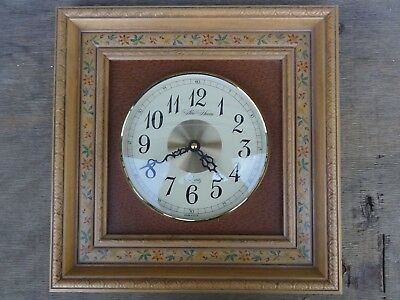Vintage New Haven Quartz Wall Clock Made in U.S.A. Battery Operated No Reserve