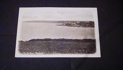 Pembrokeshire,The Harbour,Neyland,printed postcard.