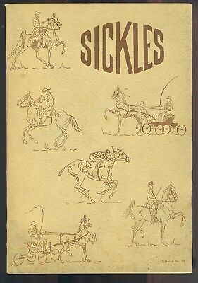 1955 SICKLES Equestrain And Saddlery Catalog No. 55 Saddles Bridles Bits Girths