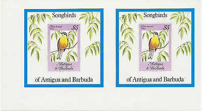 2304 ANTIGUA & BARBUDA 1984 songbirds 5 $. VARIETY: DOUBLE-MS not known Pierron