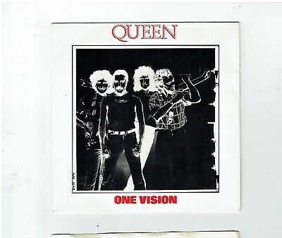 Queen One Vision Ps 45 1986