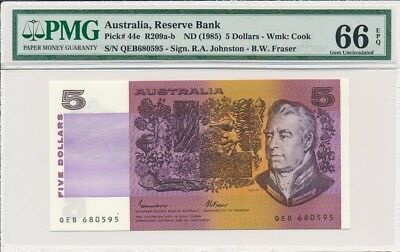 Reserve Bank Australia  5 nd(1985)  PMG  66EPQ