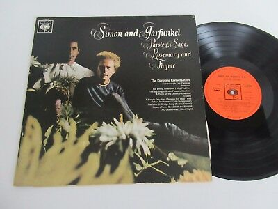 Simon And Garfunkel/parsley, Sage, Rosemary & Thyme  Lp 1966 Uk Cbs Sbpg 62860